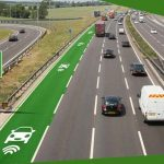 Charging lanes for electric vehicles