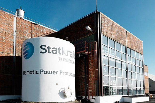 osmotic power plant