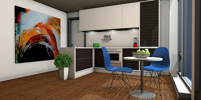kitchen open floor plan