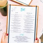 Checking calorie info on your menu could help you control weight