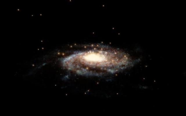 Milky Way has 1.5 trillion solar masses, according to Hubble & Gaia