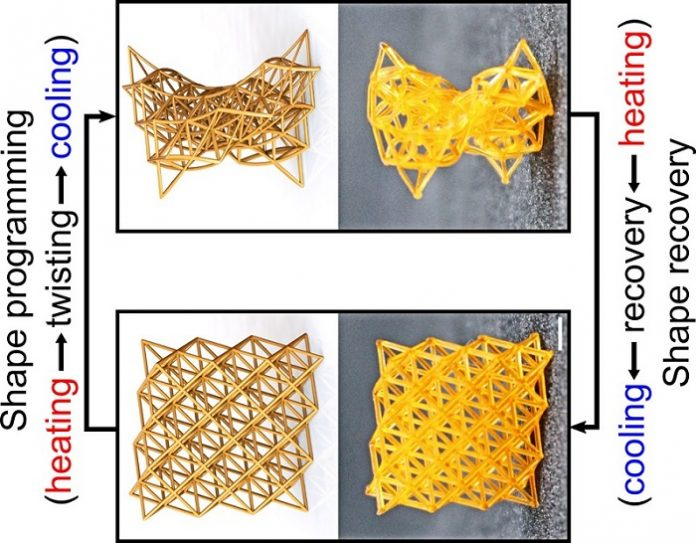 New 4D-printed materials for better industry and health products