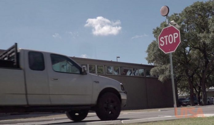 Scientists develop smart stop sign to protect driver better