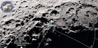 Scientists discover water molecules move around the Moon