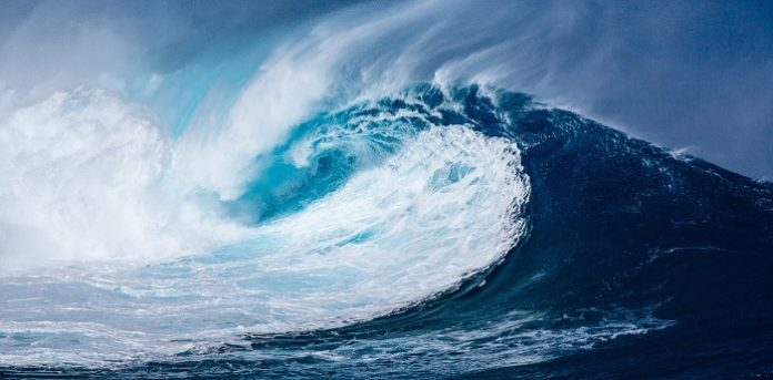 How does marine snow help cool the planet