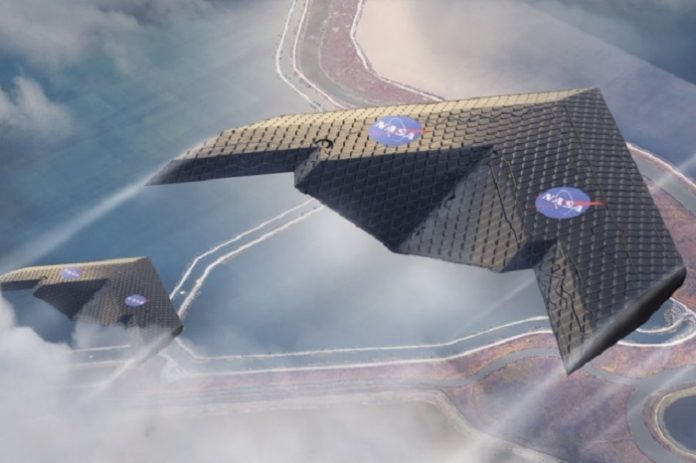 Scientists develop a new type of airplane wing