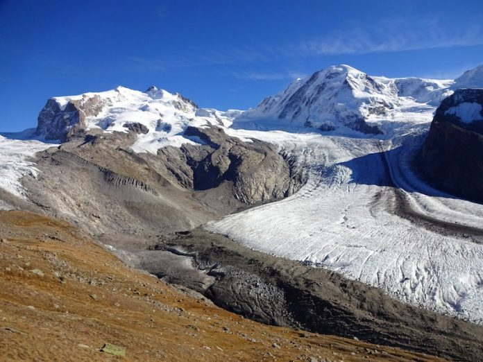 More than 90% of glacier in the Alps may disappear by 2100