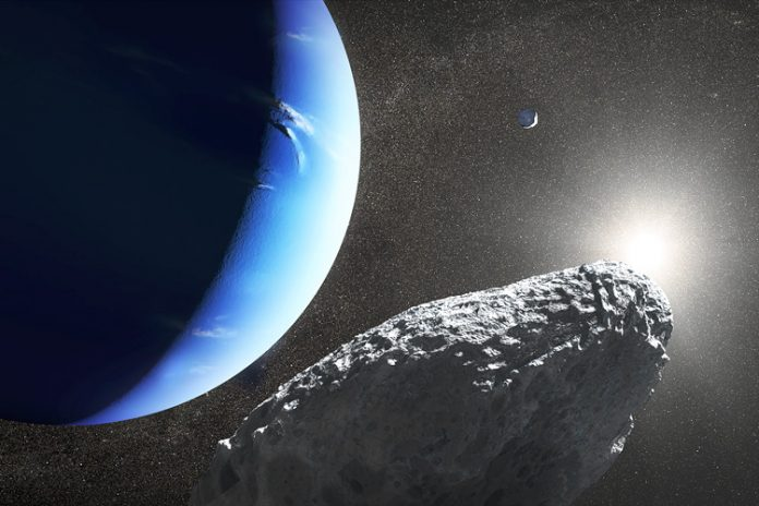 Neptune's newest moon could be part of a larger moon