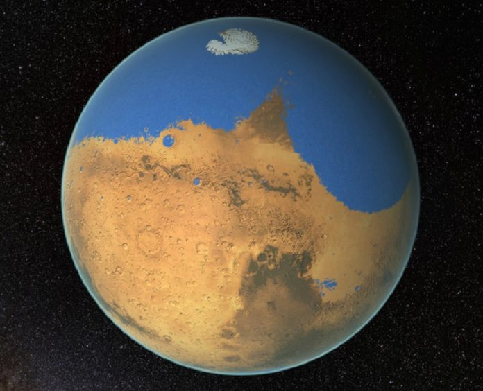 Scientists find new water cycle on Mars