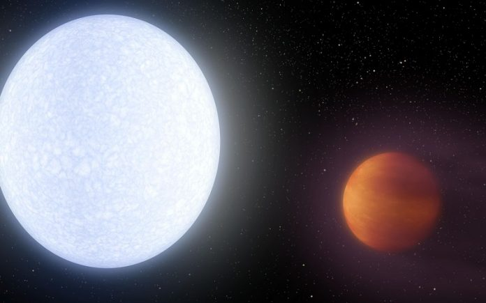 Scientists find rare-Earth metals in the atmosphere of the hottest exoplanet
