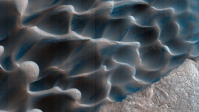 Scientists unravel mystery of sands on Mars