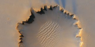 Life on Mars was possible after last great meteorite impact nearly 4.5 billion years ago