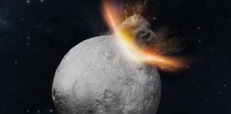 Scientist discover the hidden history of a giant asteroid
