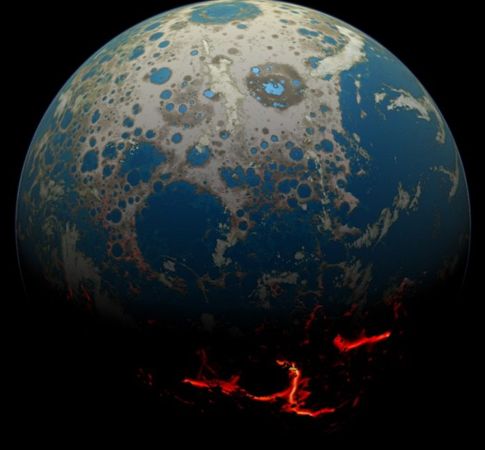 Scientists find sun's history buried in moon's crust