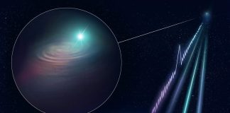 Scientists pinpoint a fleeting radio burst for the first time