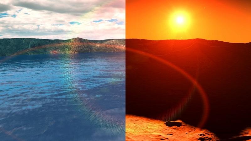 Mars once had salt lakes similar to Earth