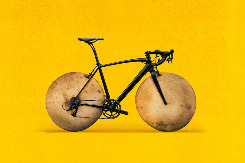 Potato boosts athletic performance as effectively as carb gels