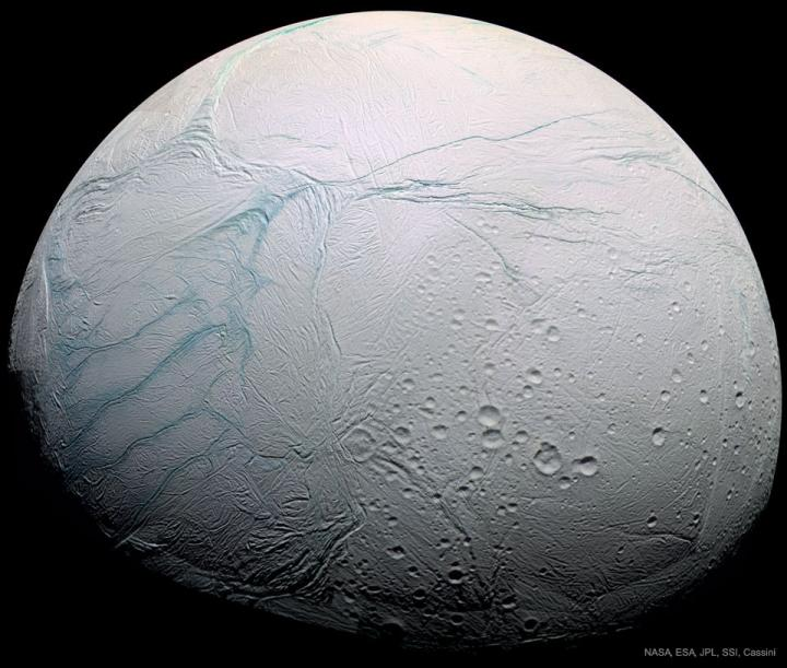 How Saturn's icy moon Enceladus got its tiger stripes